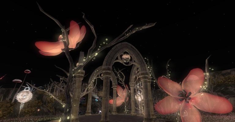 Ichi-go Ichi-e was one of my favorite sims in the 2015 SL Fantasy Faire.