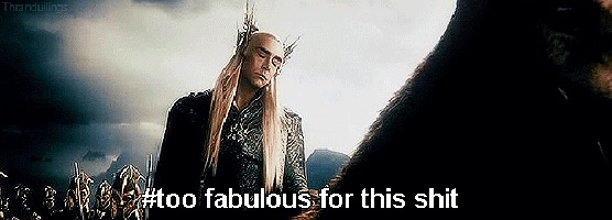 Thranduil too fabulous