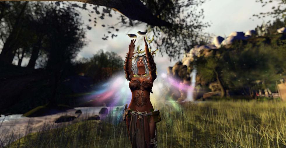 Second Life Bargain Hunter - Feyline Fashions Degha Earth Outfit