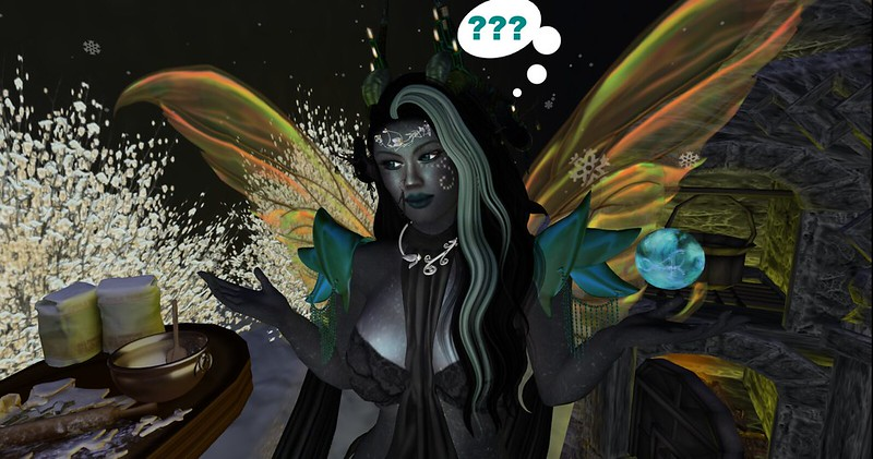 pic of spell fizzling in Second Life