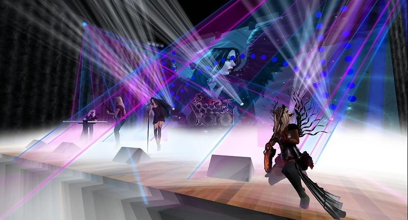 Elfwish concert in Second Life photo