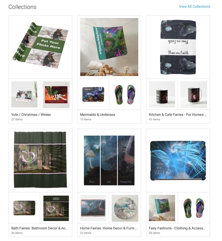 Visit the Goddess Whispers shop on Zazzle for beautiful fairy and fantasy gifts, apparel, home decor and more!